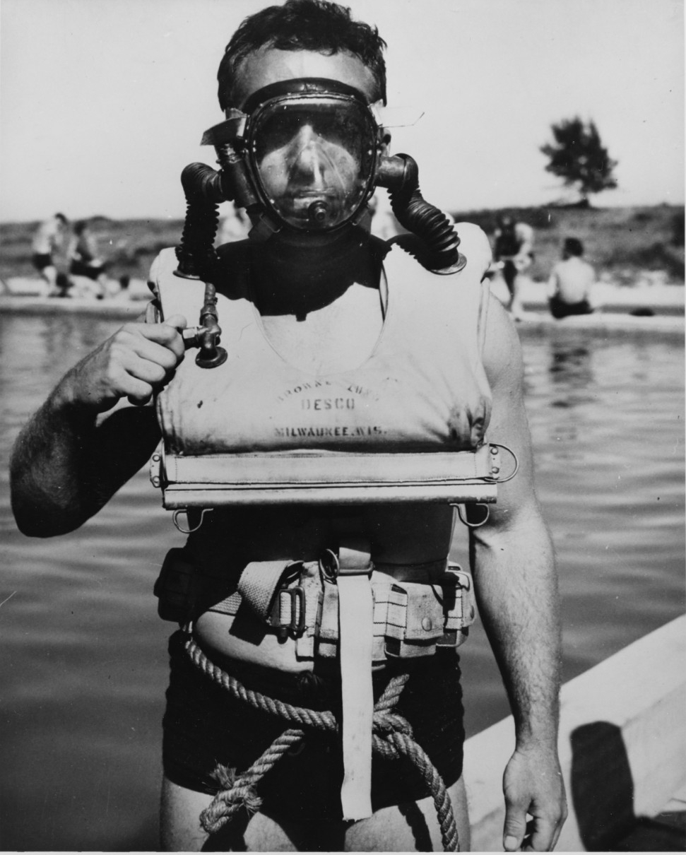 Underwater Demolition Team member