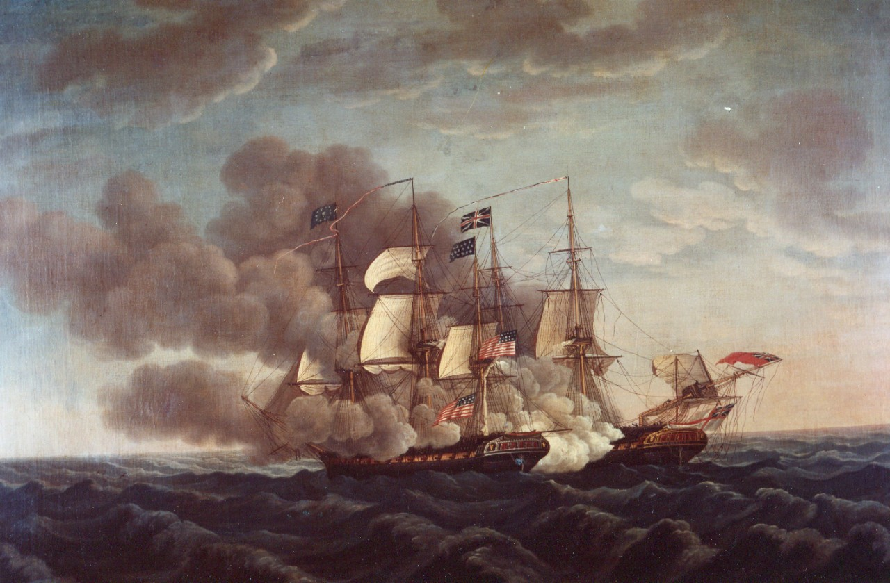 Action between USS Constitution and HMS Guerriere
