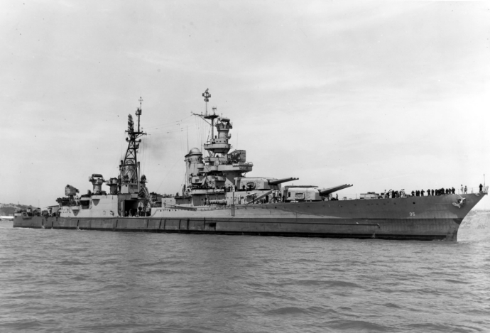 Off Mare Island, 10 July 1945