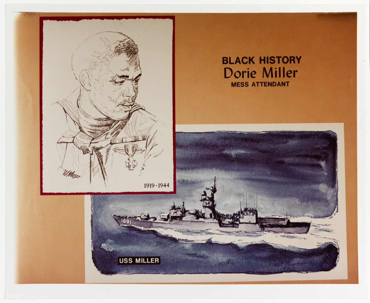"Photo #: NH 94600-KN (Color)  ""Black History"" Poster"