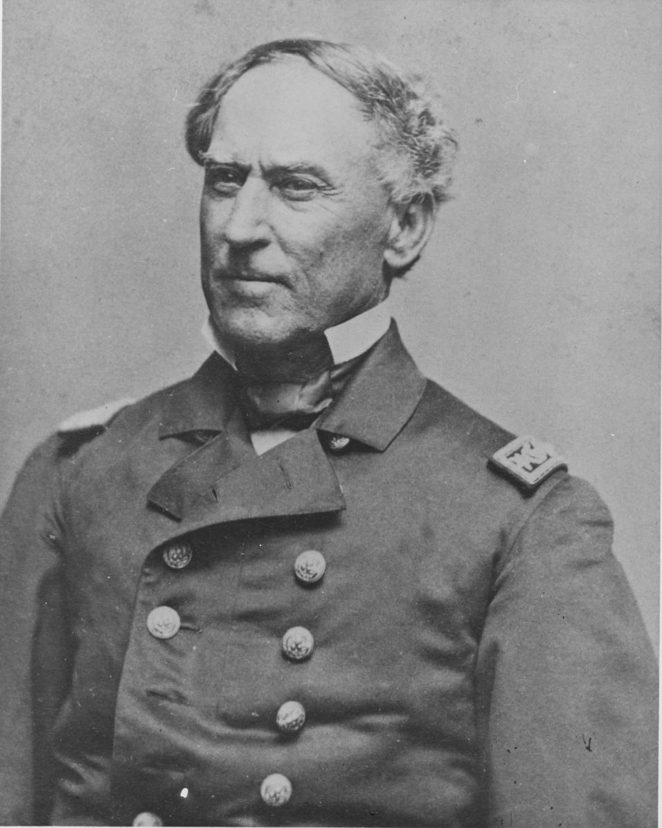 Civil War Naval Hero David G. Farragut Was the Navys