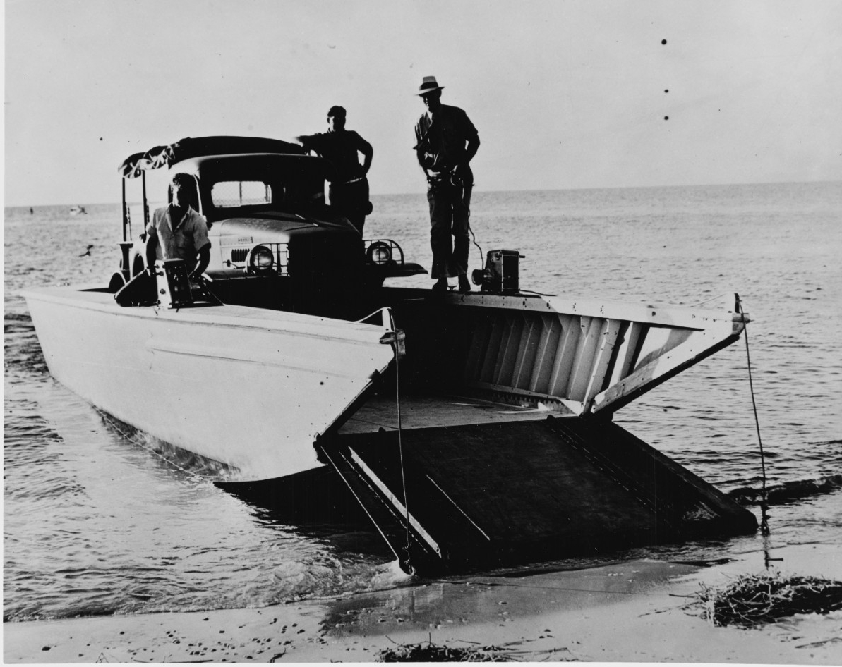 Higgins 36-foot ramped landing boat
