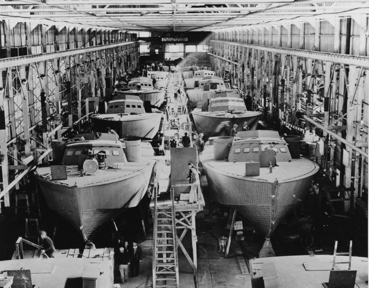 """Higgins"" PT Boats"