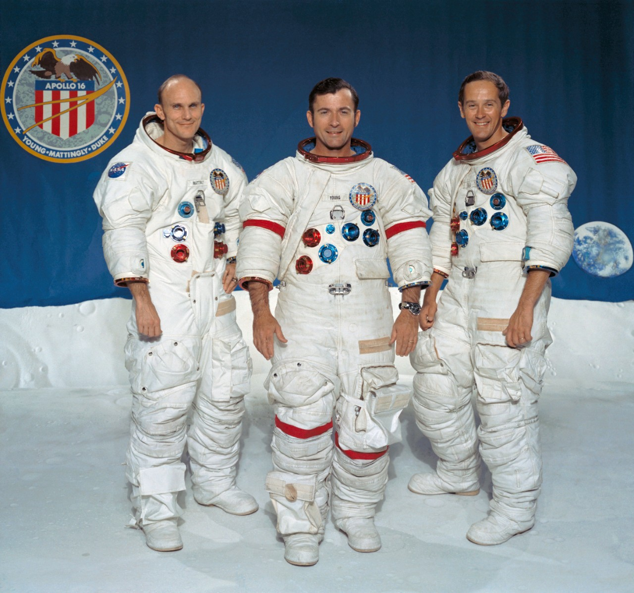 The Apollo 16 Crew