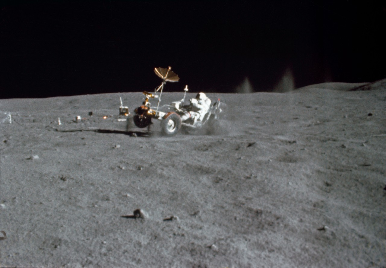 Apollo 16 the Lunar Roving Vehicle (LRV)
