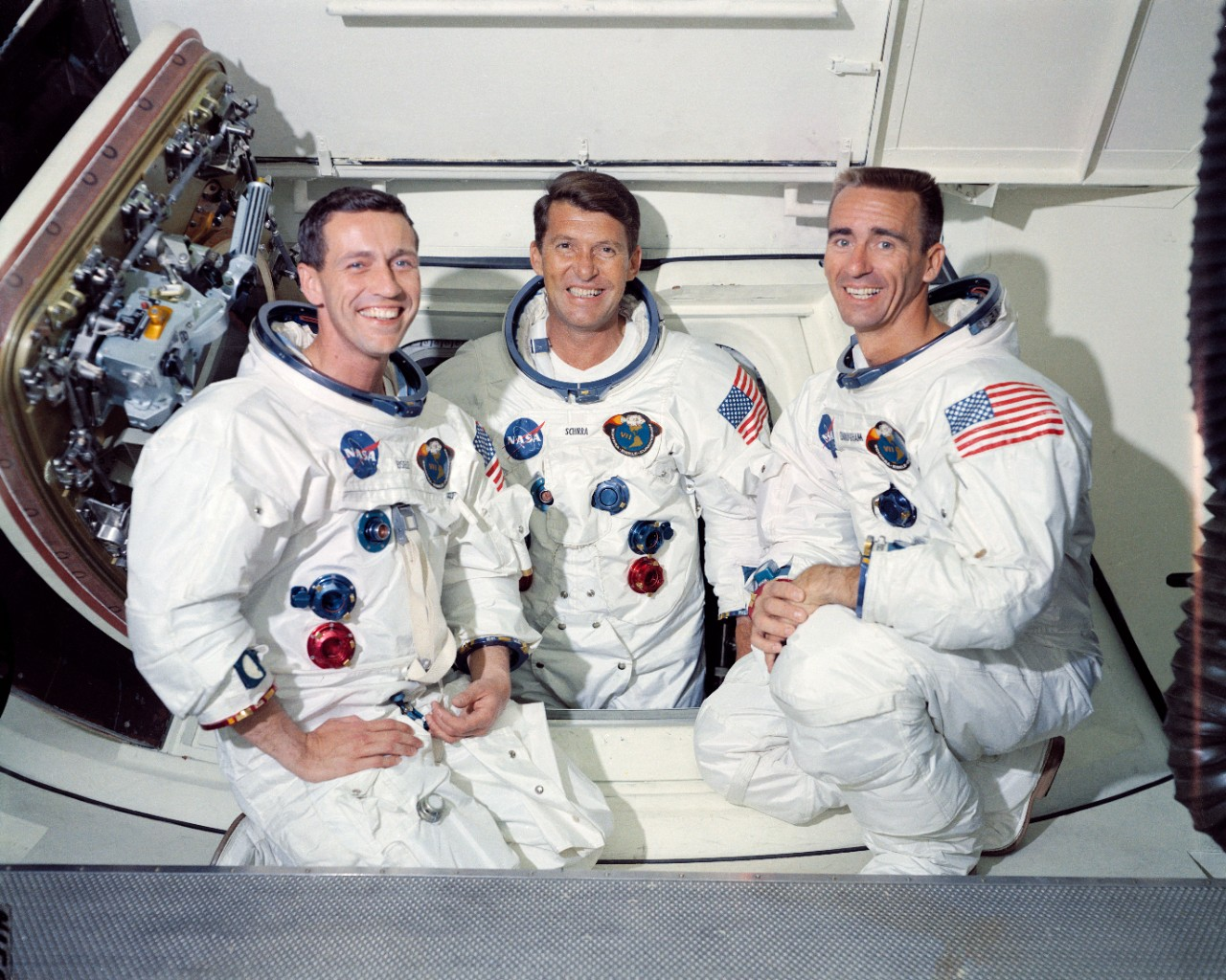 The Apollo 7 Prime Crew