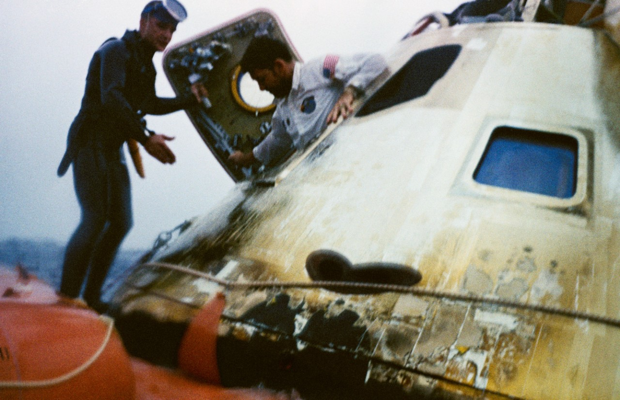 <p>Apollo 7 Recovery Mission</p>