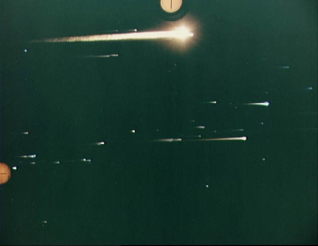 Apollo 8 reentry photograph