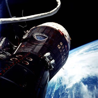 Looking Back at the Gemini 9 Spacecraft