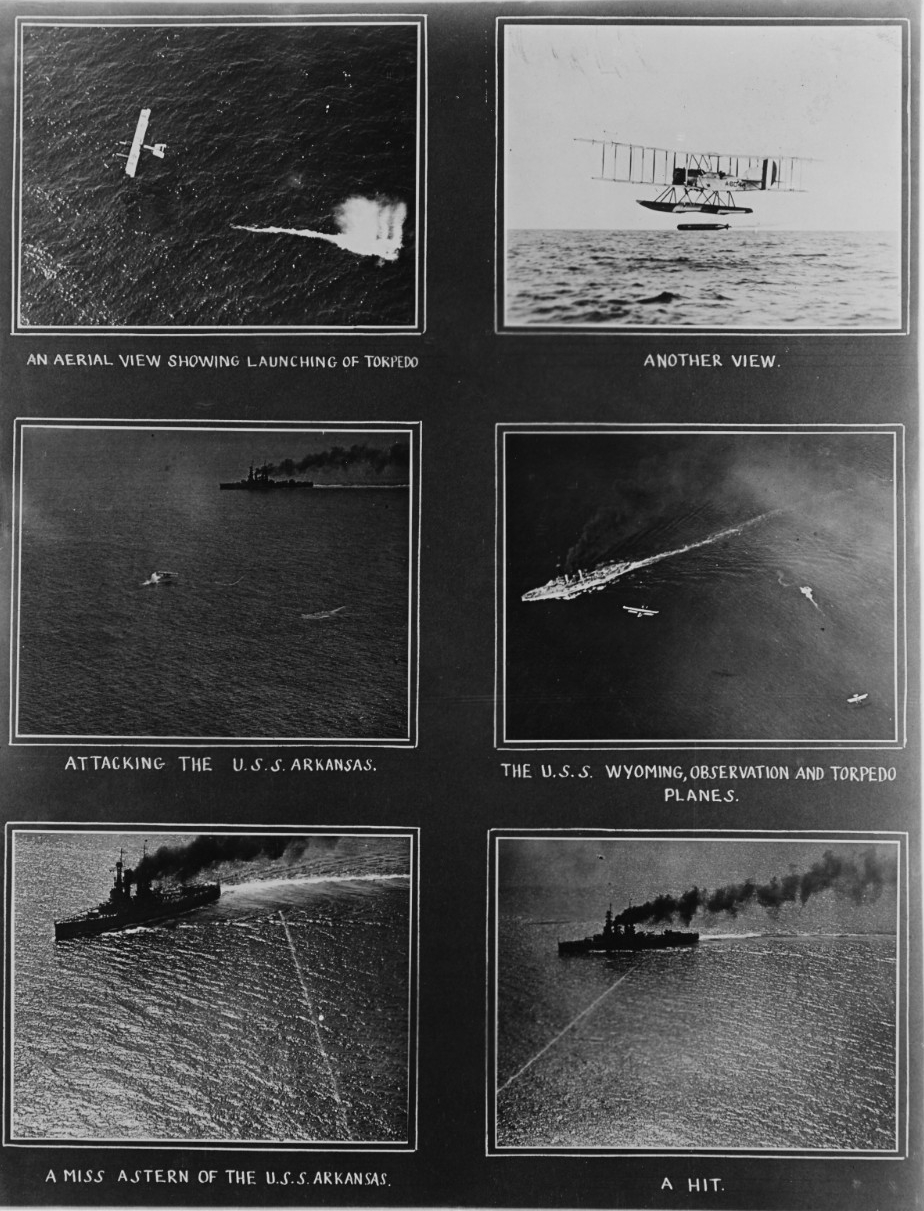Aerial Torpedo Exercise, circa early 1920s
