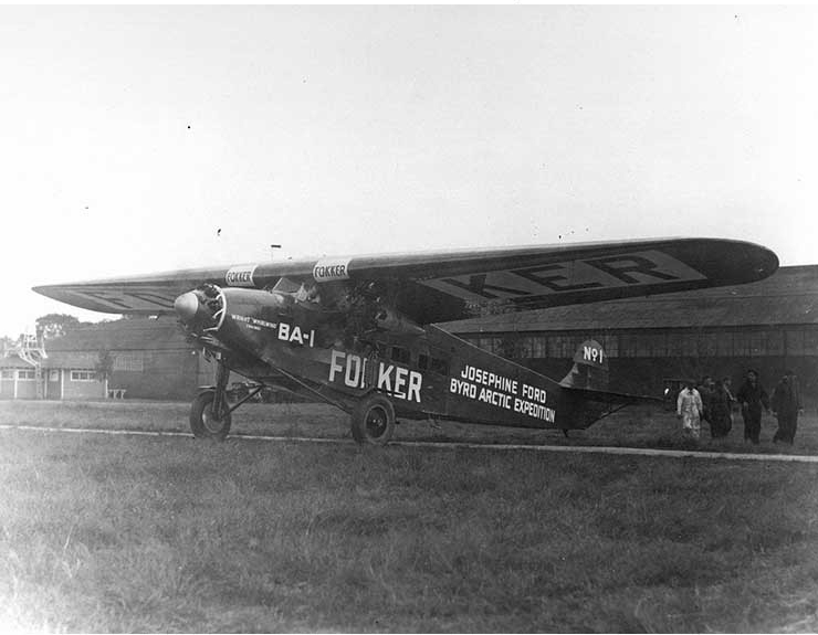 "Fokker BA-1 Airplane ""Josephine Ford"""