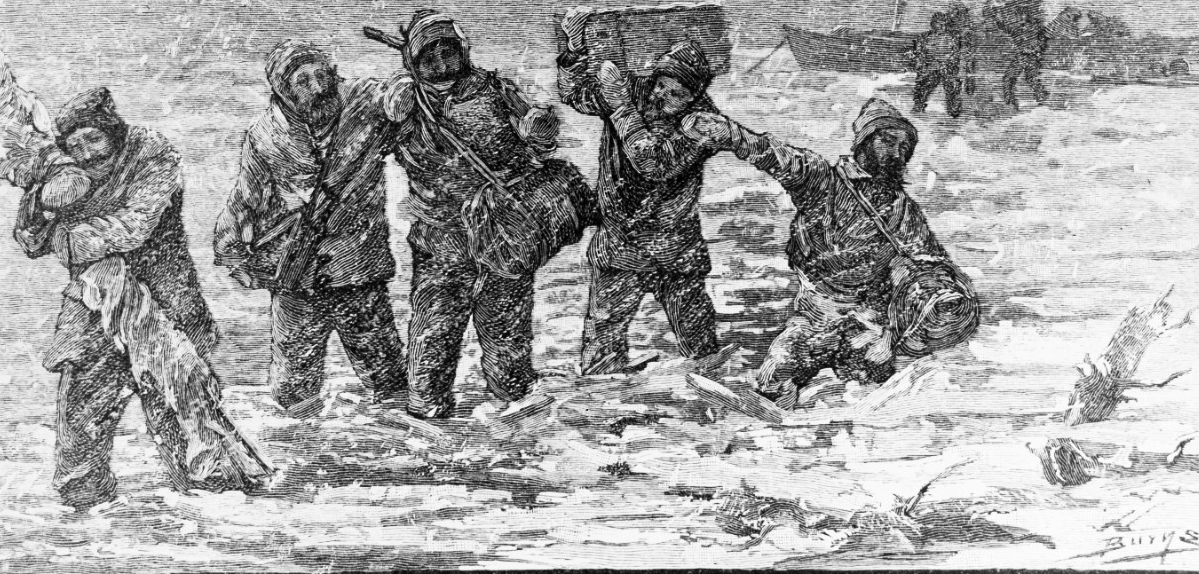 Jeannette Arctic exploring expedition, 1879-1881