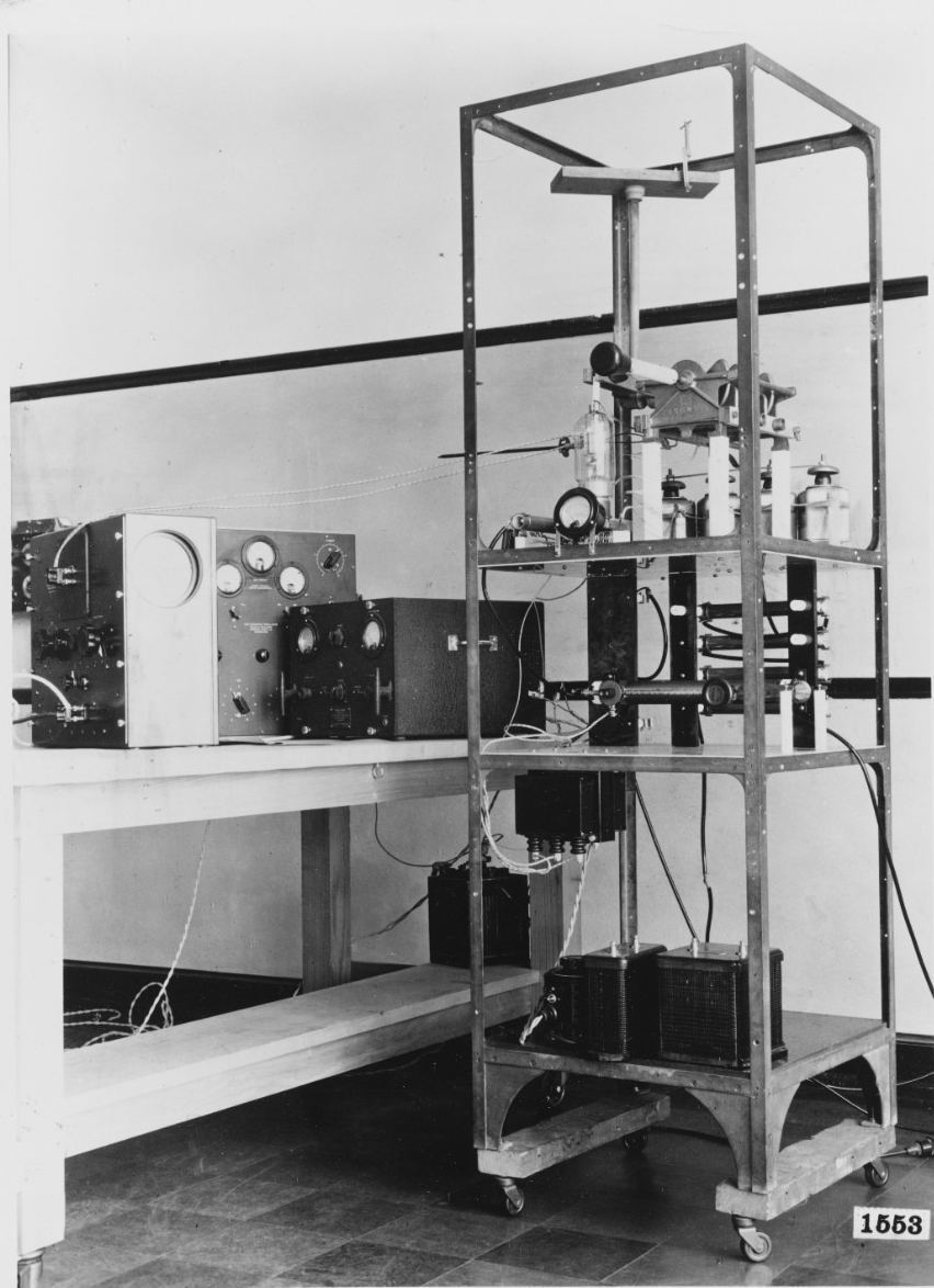Experimental Pulse Radar Transmitter