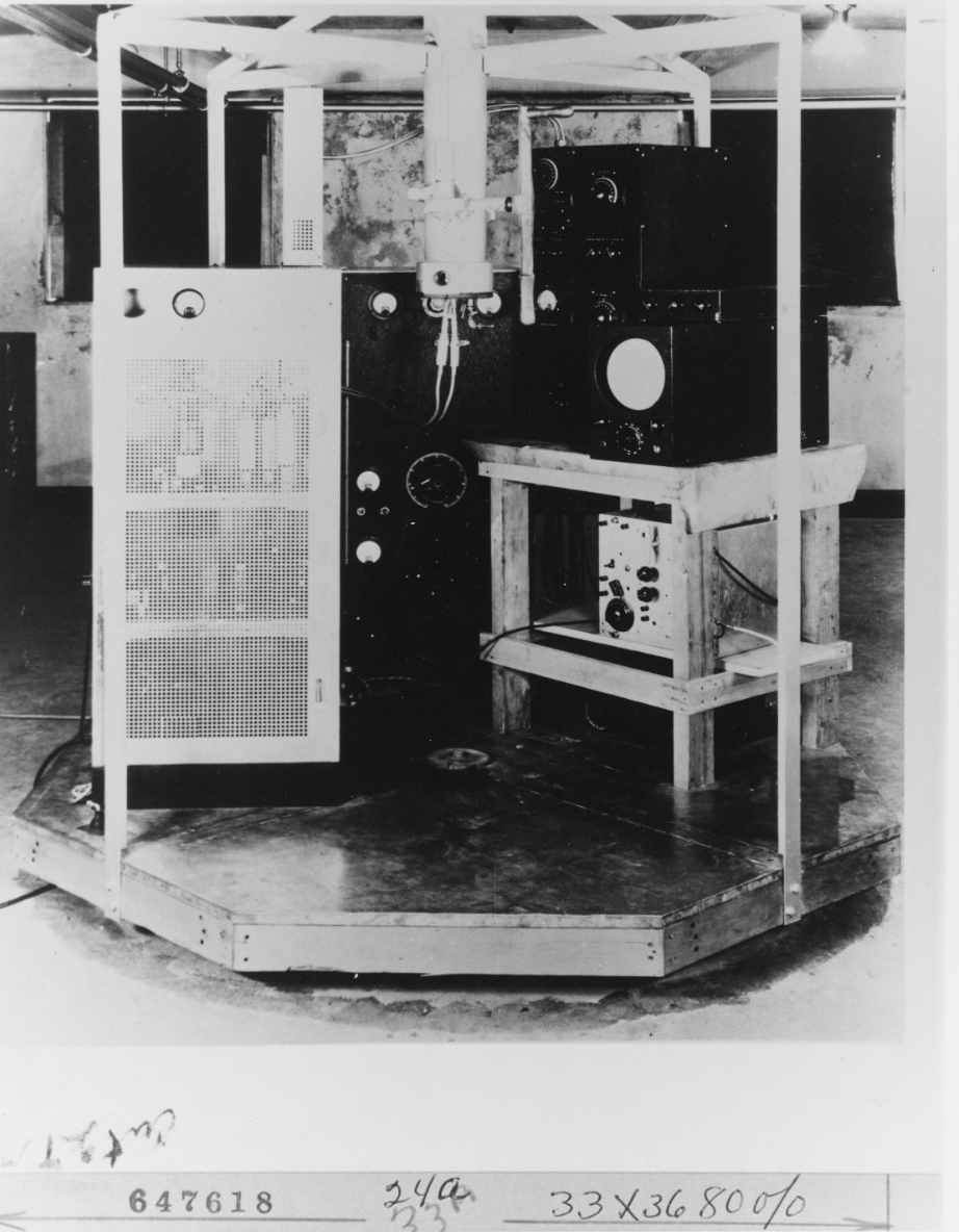 First Rotating Beam Radar