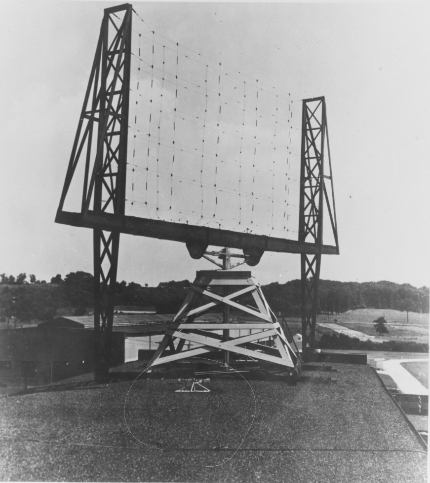 First Rotating Beam Radar Antenna