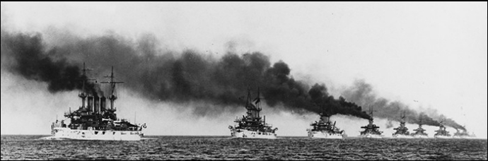 NH 92091: Battleships of the Great White Fleet