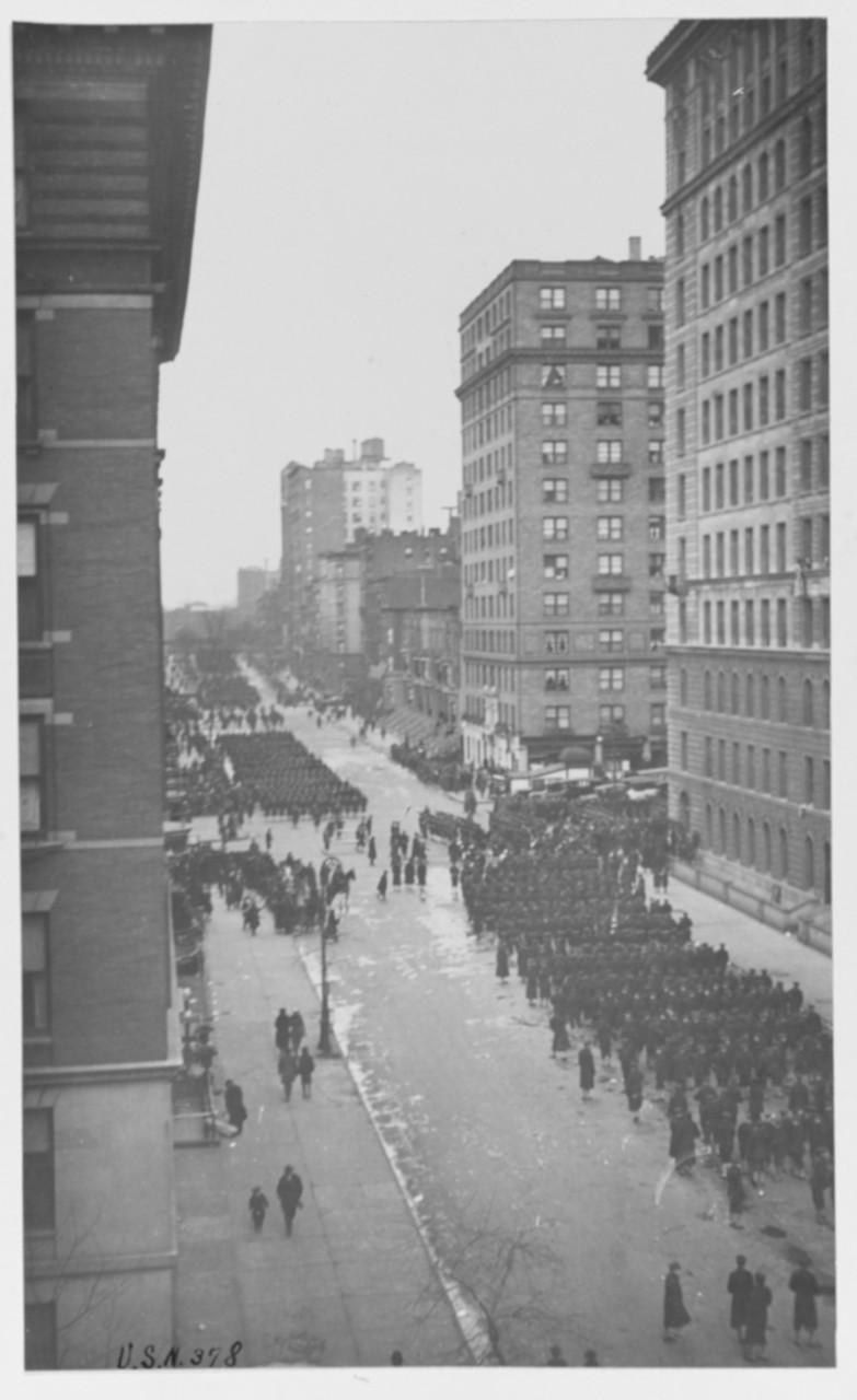 Parade in New York