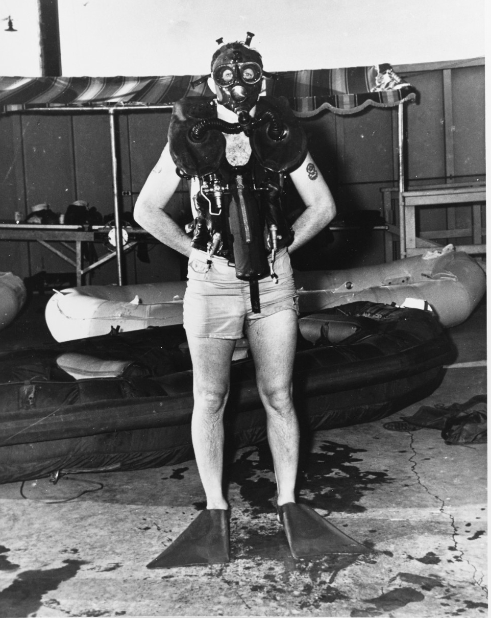 Underwater Demolition Team gear