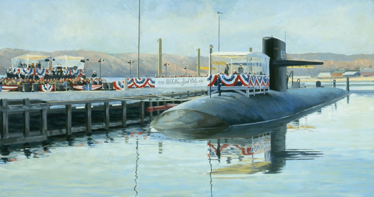 Commission of the SSN New York City