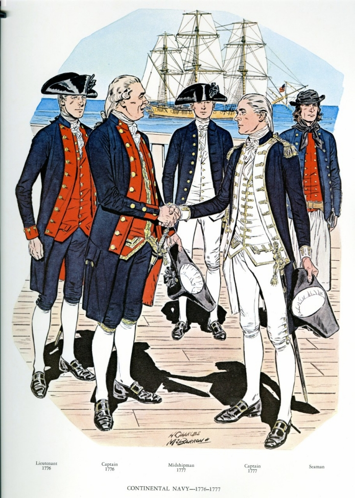 Uniforms of the U.S. Navy 1776-1783