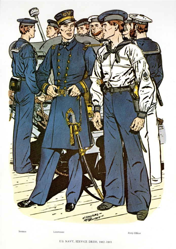 Uniforms of the U.S. Navy 1862-1863