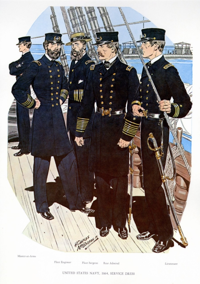 Uniforms of the U.S. Navy 1864