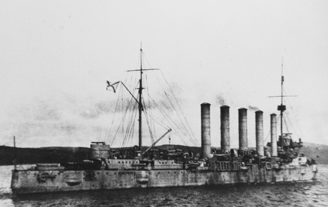 ASKOLD (Russian Protected Cruiser)