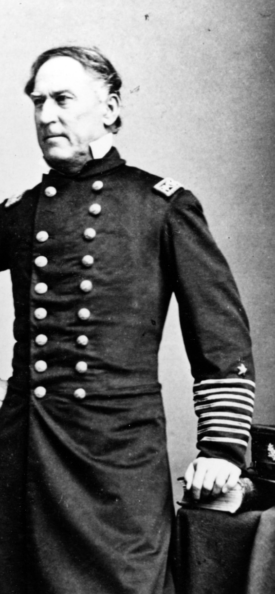 Rear Admiral David G. Farragut, USN