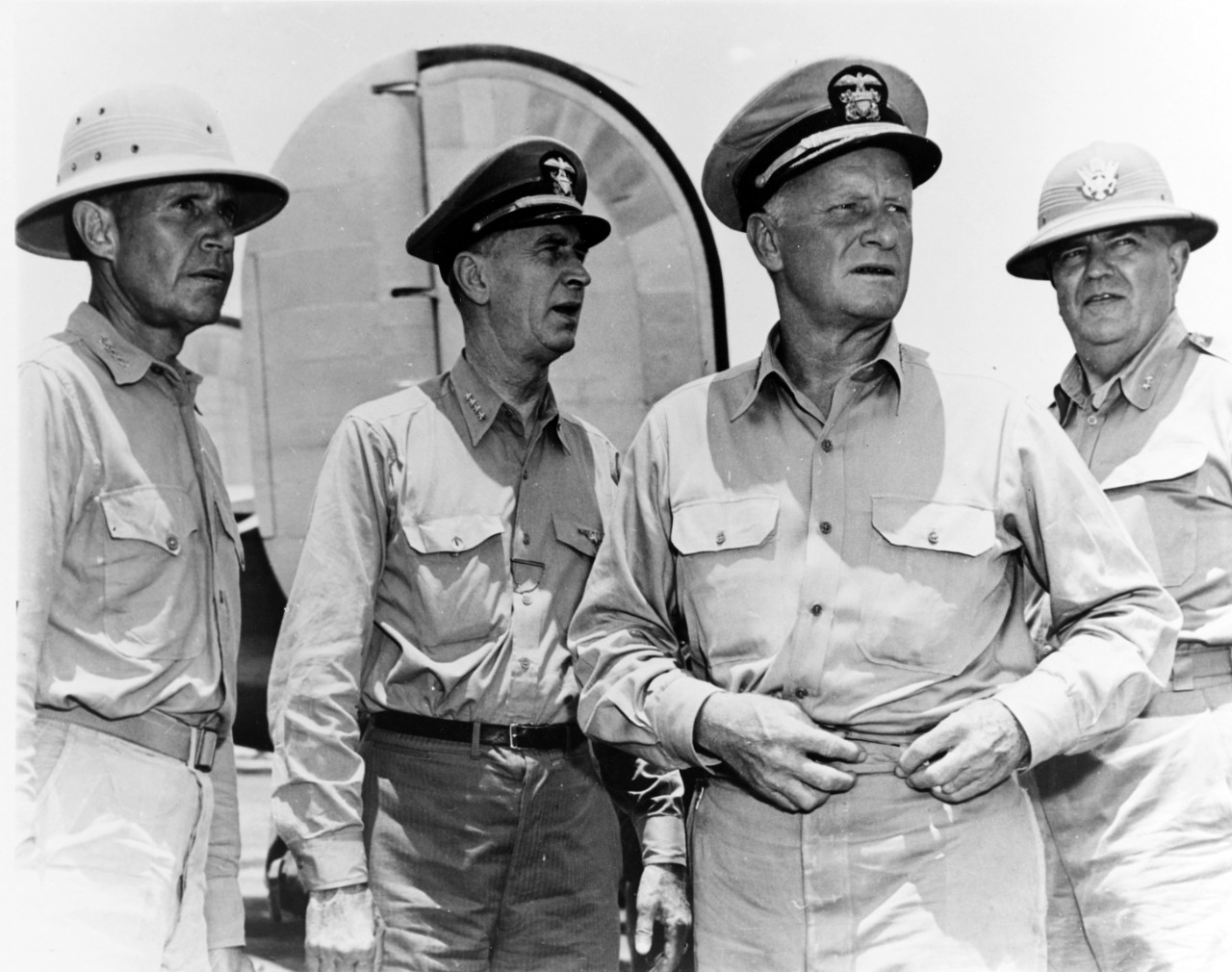 Senior Navy officers visit Saipan
