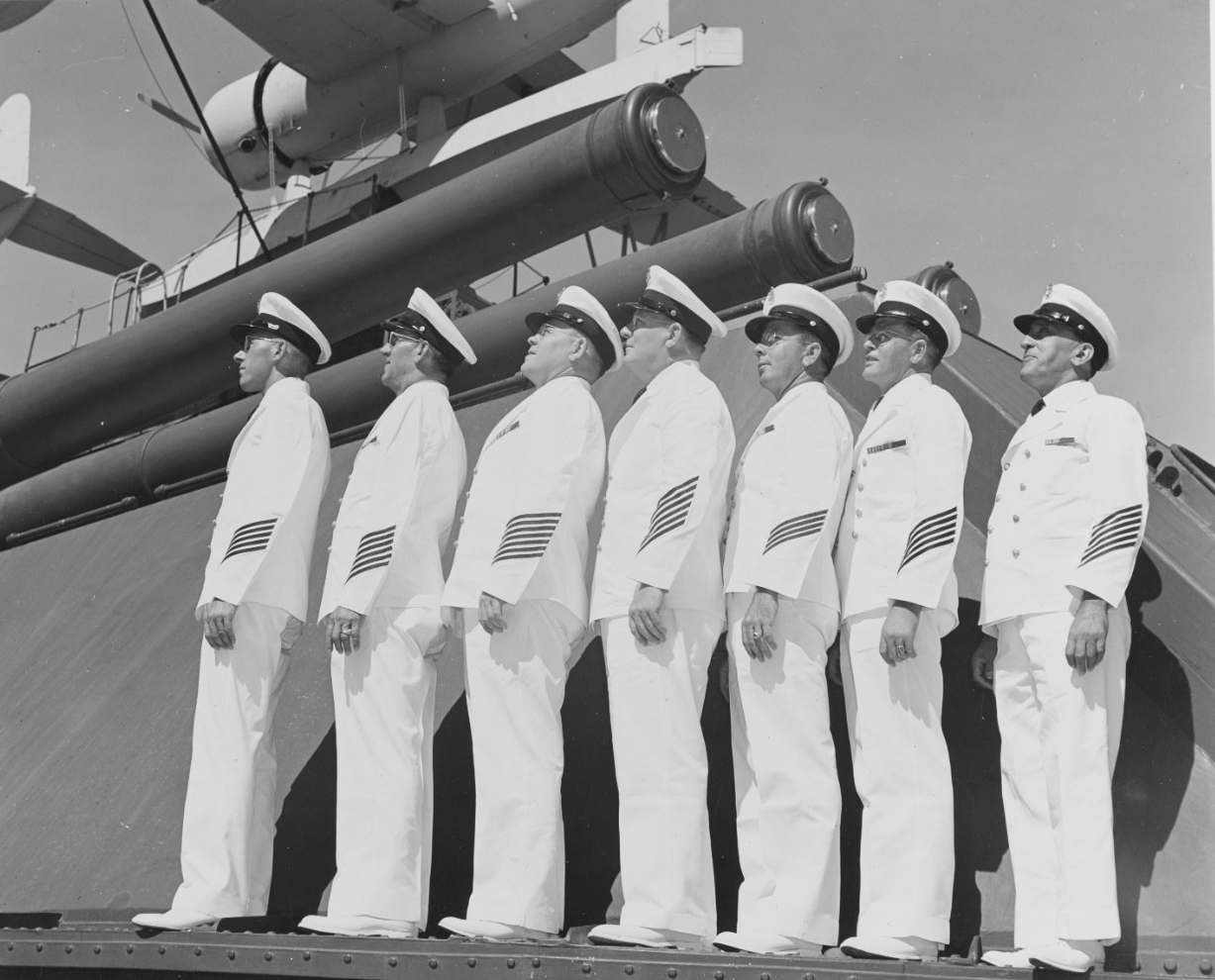Seven veteran chief petty officers