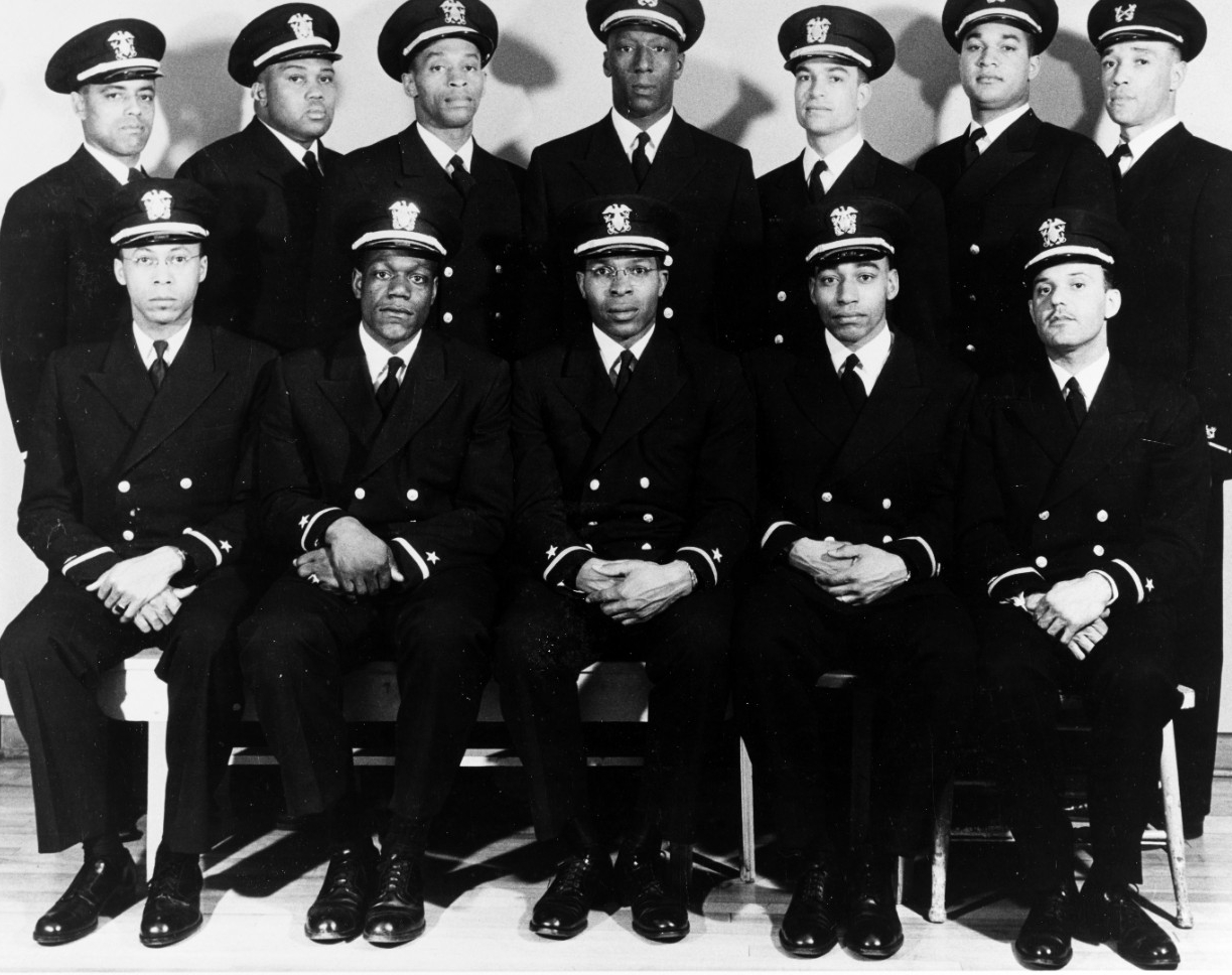 First African-American U.S. Navy Officers