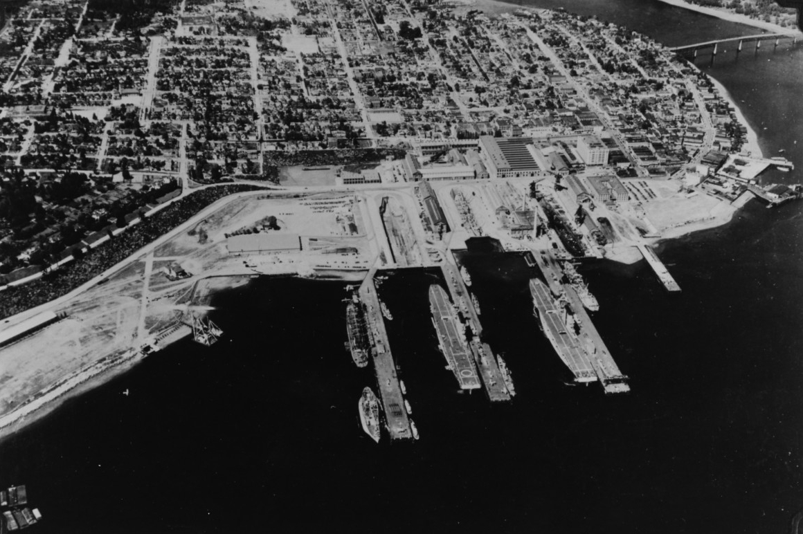 Puget Sound Navy Yard, Bremerton, Washington
