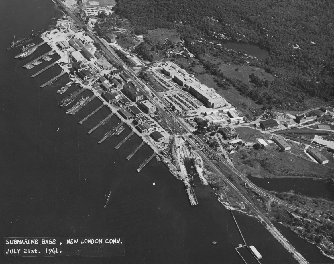 Submarine Base, New London Conn.