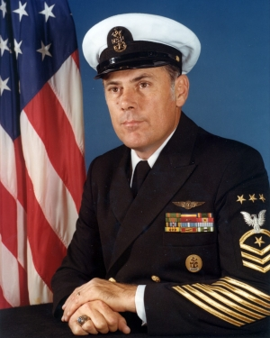 Portrait of MCPON Thomas S. Crow