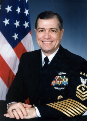 Portrait of MCPON James L. Herdt