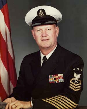 Portrait of MCPON Delbert D. Black