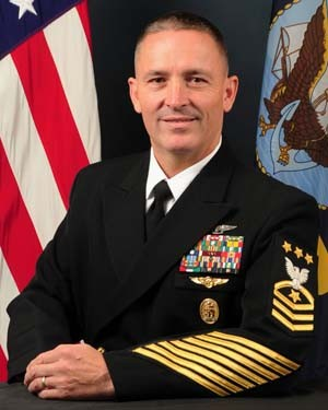 Portrait of MCPON Michael D. Stevens