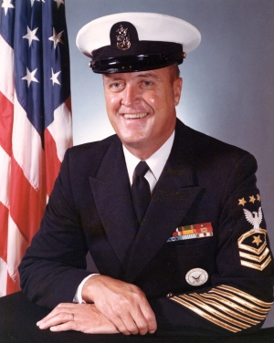 Portrait of MCPON Robert J. Walker