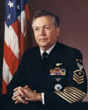 Portrait of MCPON John D. Whittet
