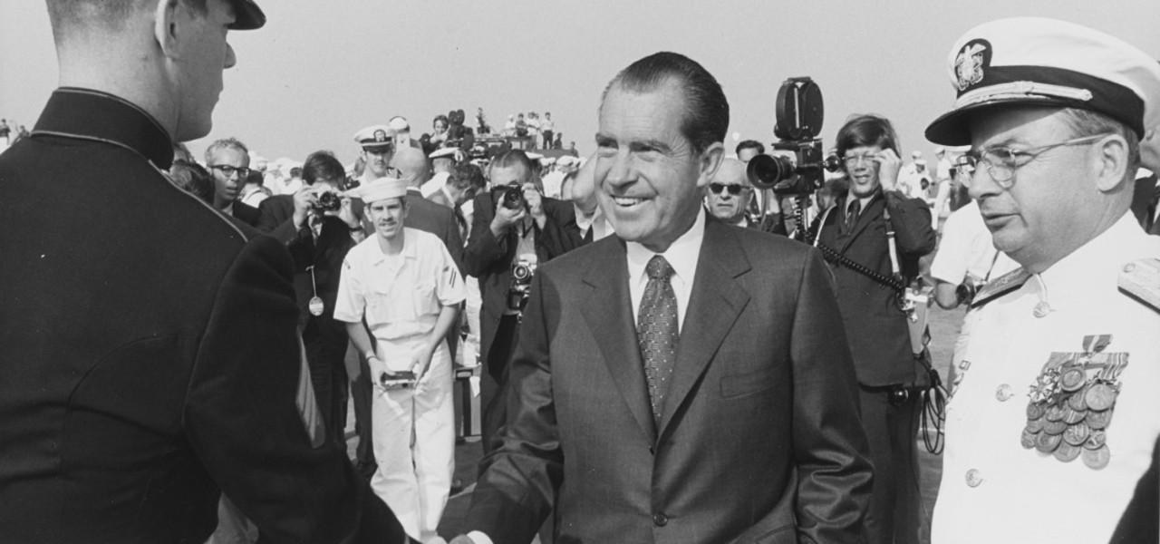 Commander Richard M. Nixon, USNR