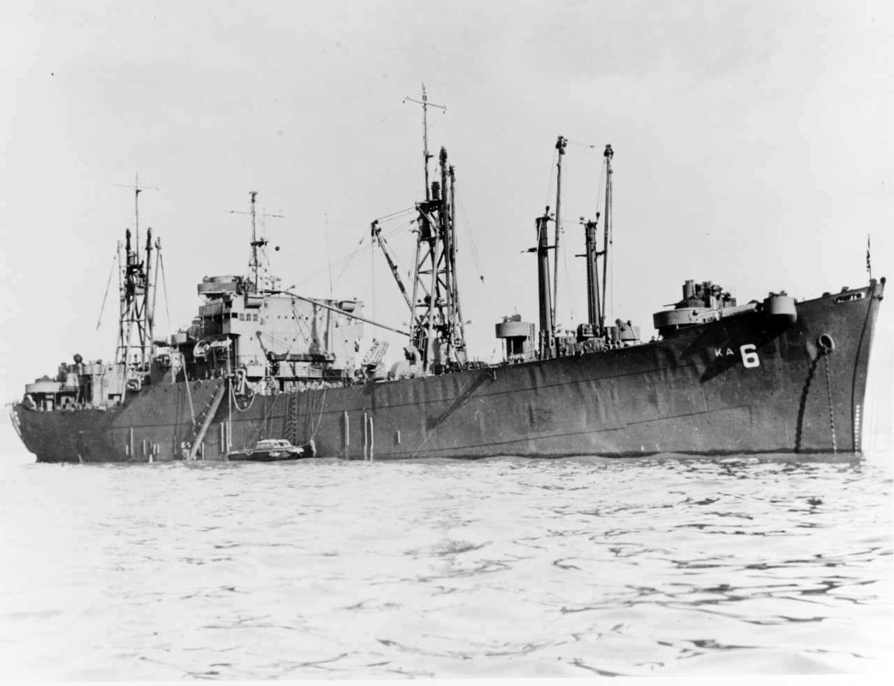 Photo #: NH 78540  USS Alchiba (AKA-6)