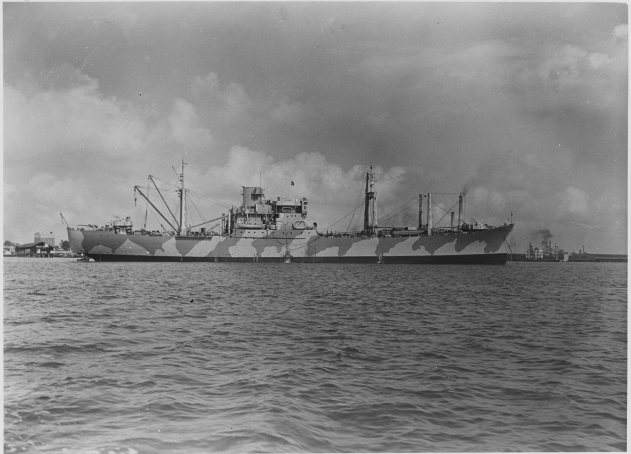 Photo #: NH 97835  USS Alchiba (AK-23)