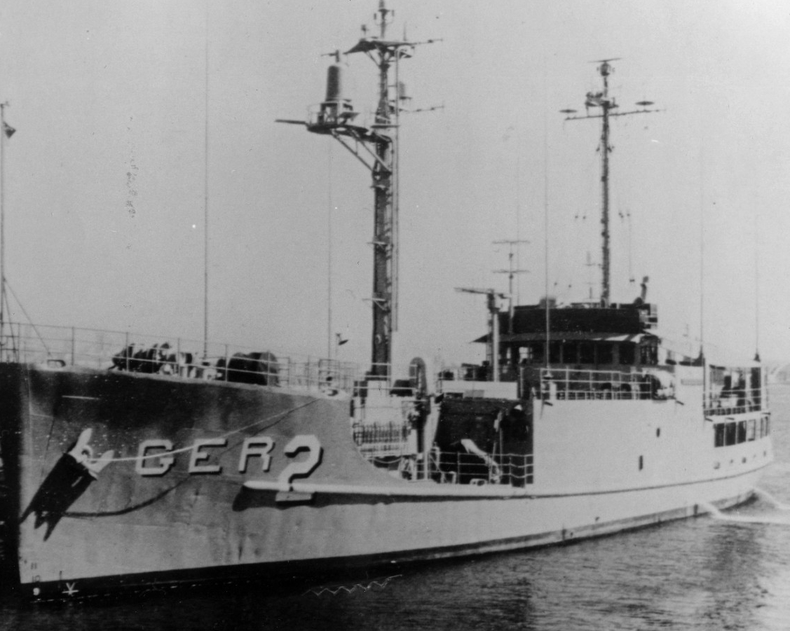 Photo #: USN 1129296  USS Pueblo (AGER-2)