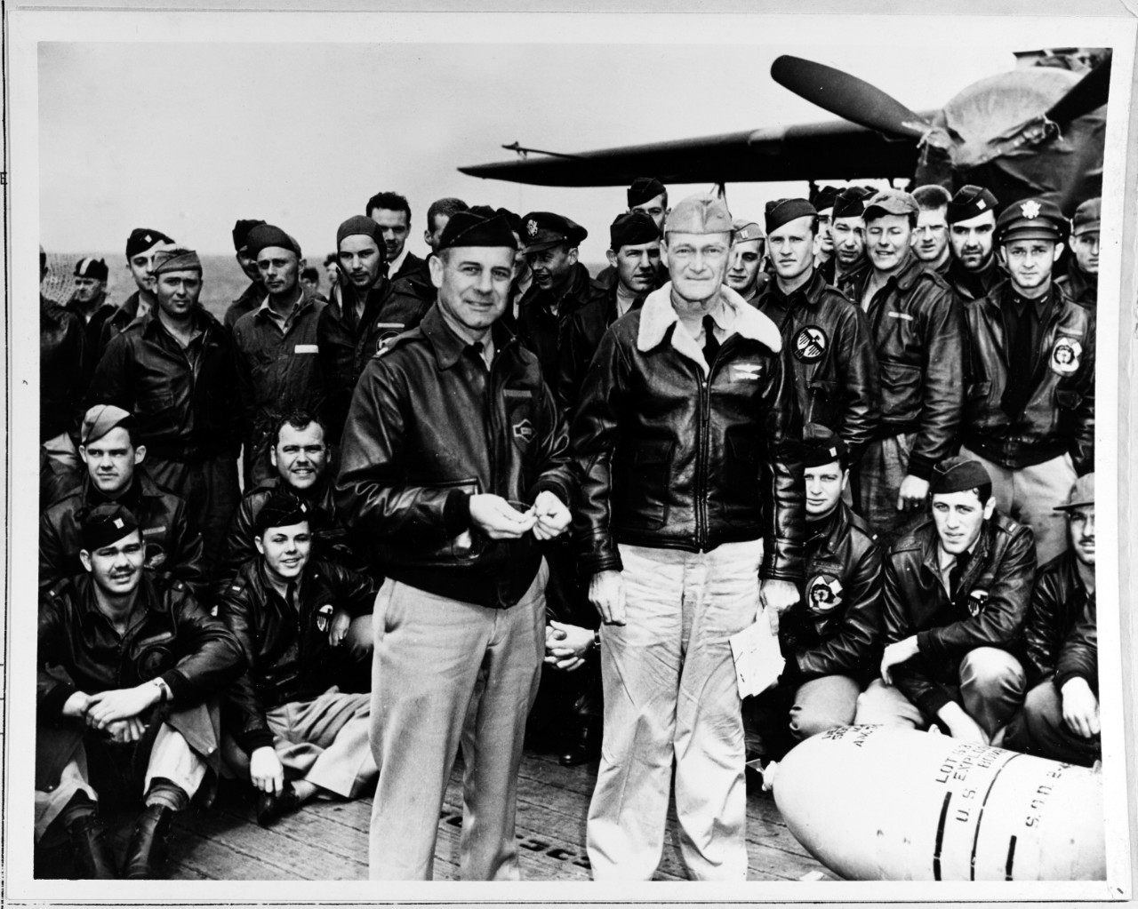 Photo #: NH 64472  Doolittle Raid on Japan, 18 April 1942