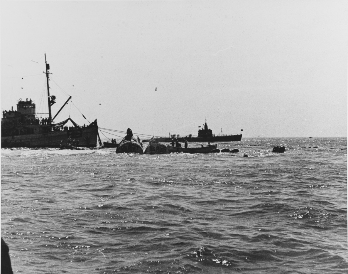 Salvage of USS Squalus (SS-192), 1939