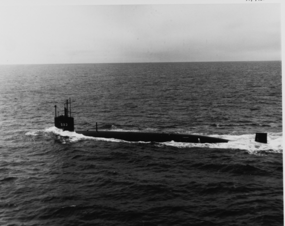 Photo #: NH 97550  USS Thresher (SSN-593)