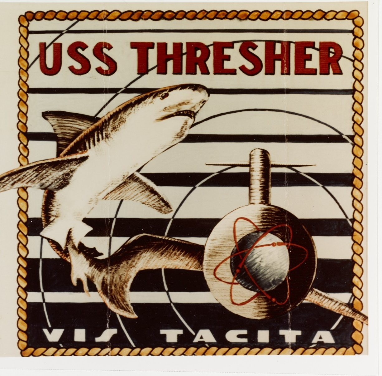 Photo #: NH 91424-KN Insignia: USS Thresher (SSN-593)