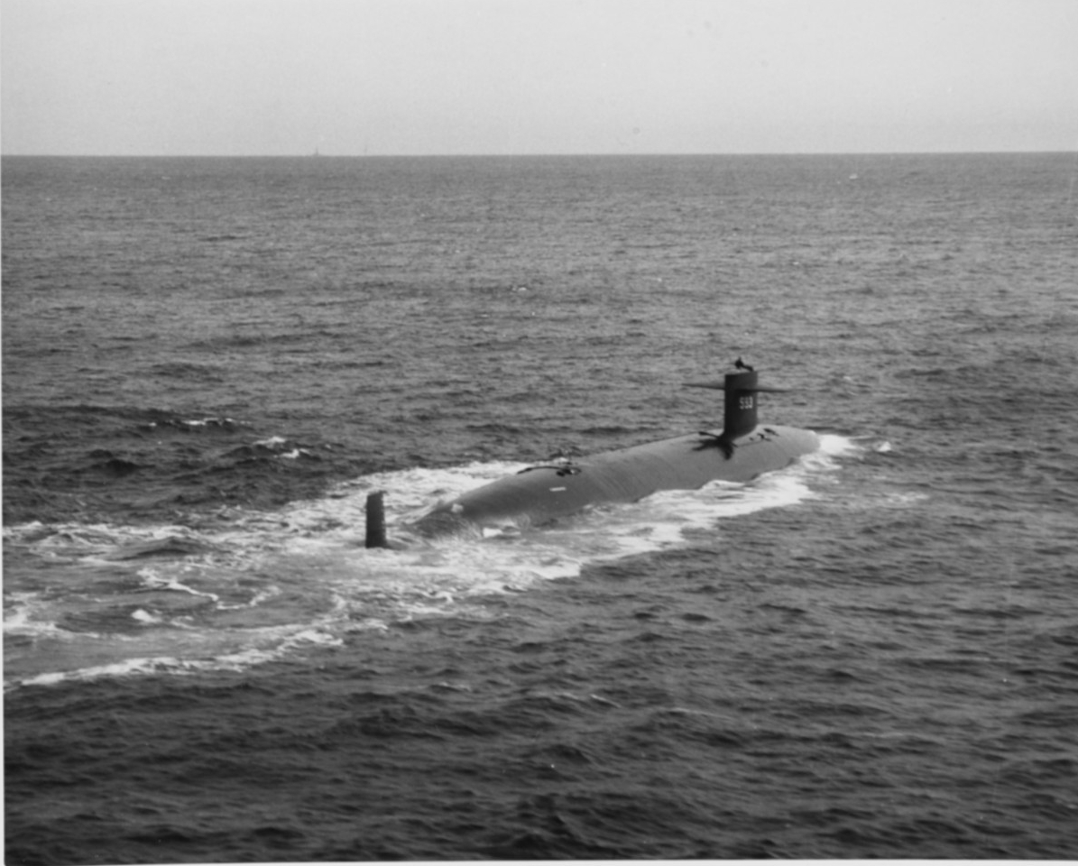 Photo #: NH 97551  USS Thresher (SSN-593)