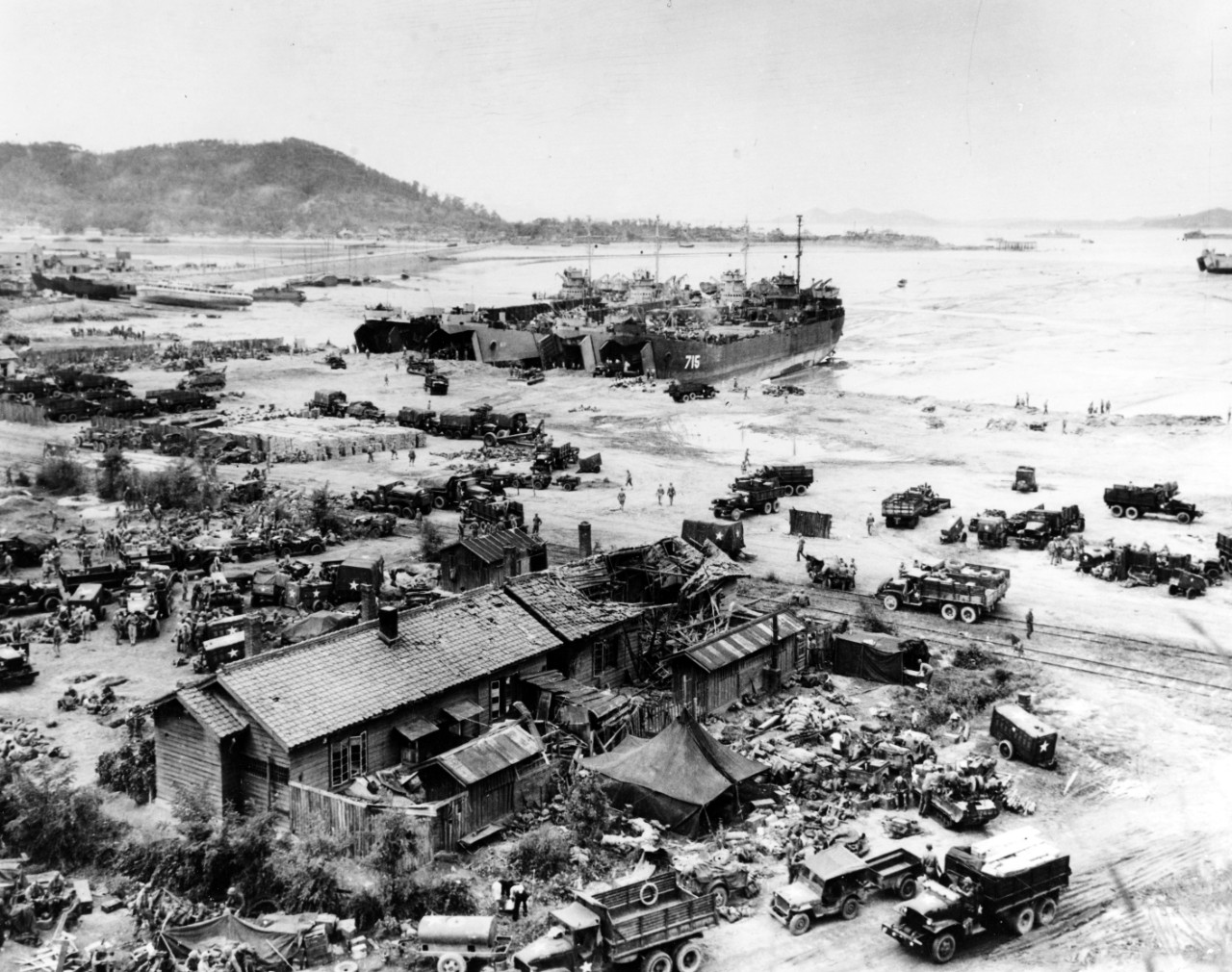 <p>Photo #: 80-G-420027 Inchon Invasion, September 1950</p>