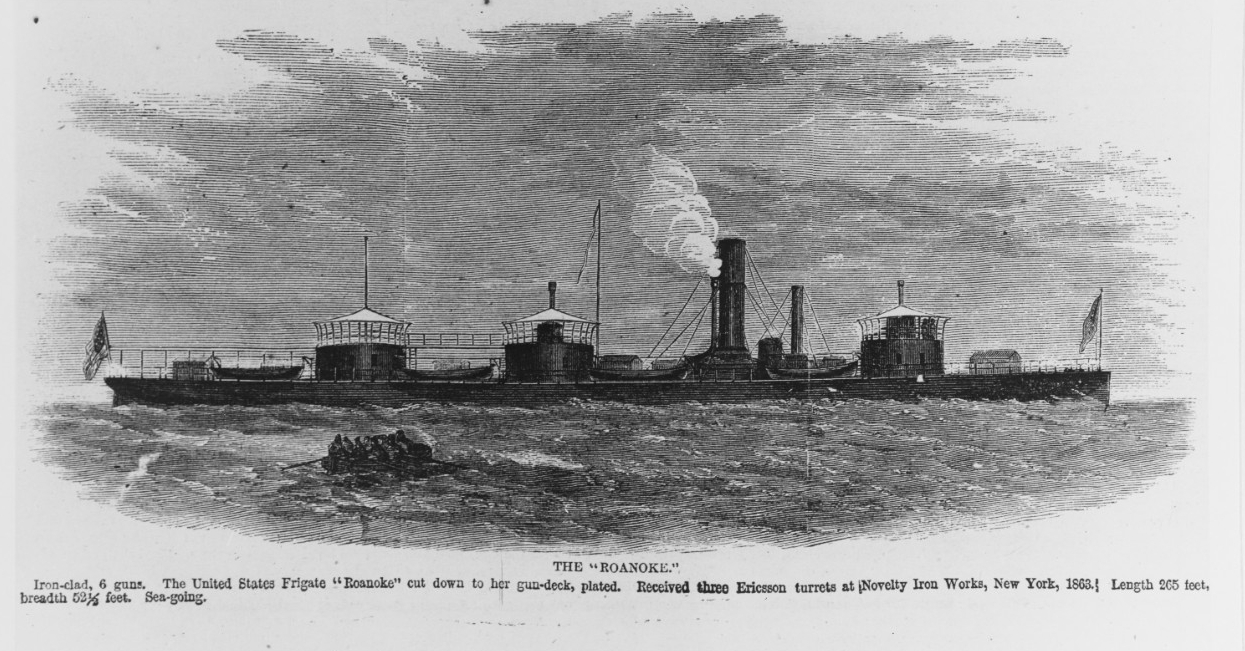 Photo #: NH 65686-KN USS Monitor vs. CSS Virginia, 9 March 1862